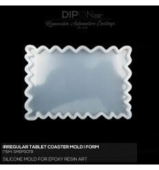 Irregular Tablet Coaster Mold / Silikonform