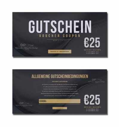 DIPON Gutschein I Voucher 25,00 €