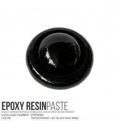 Tiefschwarz / Jet Black (RAL 9005) Epoxy Resin Pigment Paste