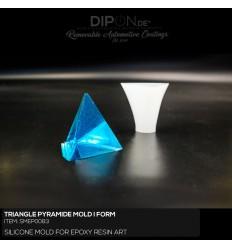 Triangle Pyramide Mold / Silikonform