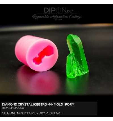 Diamond Crystal Iceberg Size M Mold / Silikonform