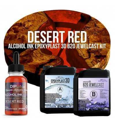 EpoxyPlast B20 JewelCast - Desert Red Kit -
