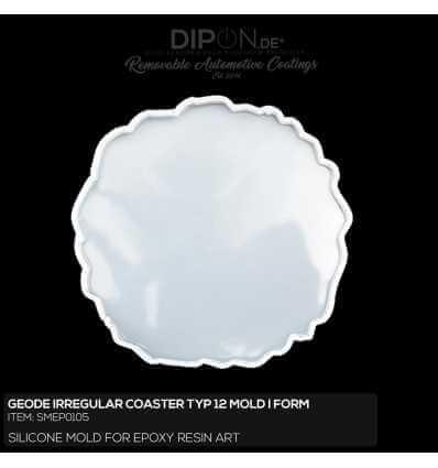 Geode Irregular Coaster Typ 12 Mold / Silikonform