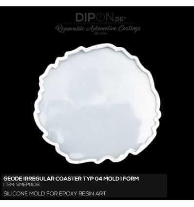 Geode Irregular Coaster Typ 04 Mold / Silikonform