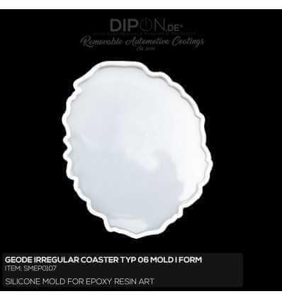 Geode Irregular Coaster Typ 06 Mold / Silikonform