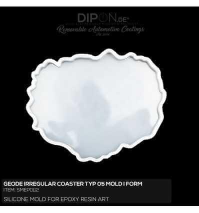Geode Irregular Coaster Typ 05 Mold / Silikonform