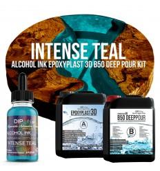 EpoxyPlast 3D B50 Deep Pour - Intense Teal Kit -