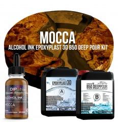 EpoxyPlast 3D B50 Deep Pour - Mocca Kit -