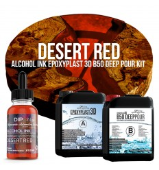EpoxyPlast 3D B50 Deep Pour - Desert Red Kit -