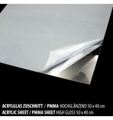 Acrylglas I PMMA Platte Hochglanz Zuschnitt