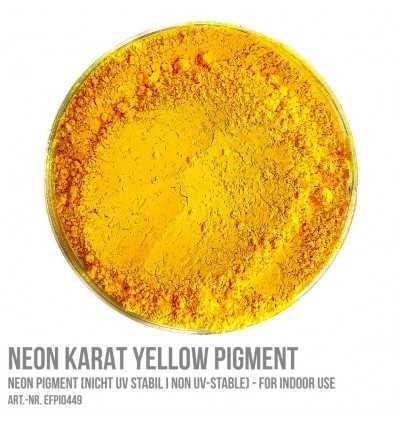 Neon Karat Yellow Pigment