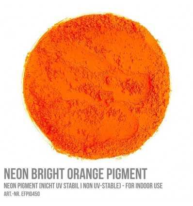 Neon Bright Orange Pigment