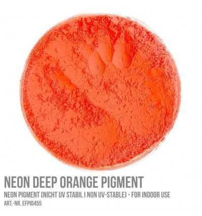 Neon Deep Orange Pigment