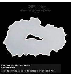 Crystal Geode Tray Mold / Silikonform