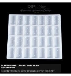 Domino Game I Domino Spiel Mold / Silikonform