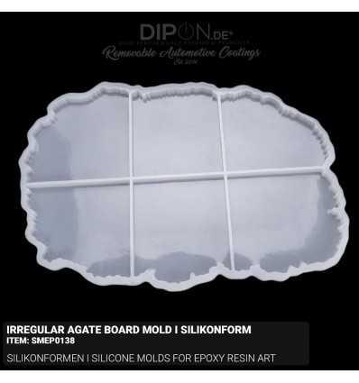 Irregular Agate Board Mold I Silikonform