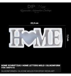 Home Schriftzug I Home Letters - Mold I Silikonform