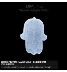 Hand of Fatima Hamsa - Mold I Silikonform