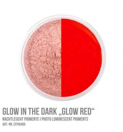 Glow in the Dark Glow Red