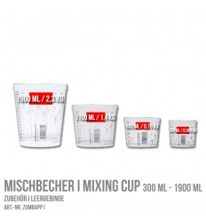 Mischbecher I Mixing Cup 300 ml - 1900 ml