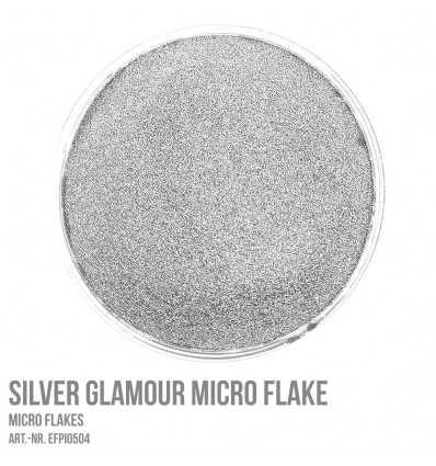 Silver Glamour Micro Flake