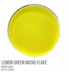 Lemon Green Micro Flake