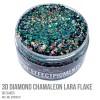 3D Diamond Chamaleon Lara Flake