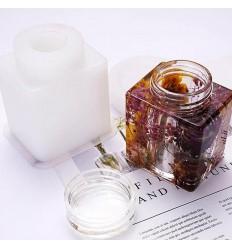 Flasche Eckig I Storage Cubic Mold I Silikonform