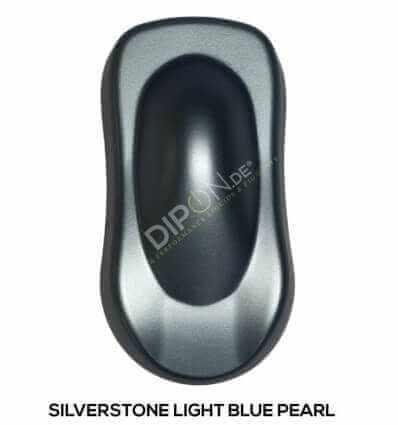 KandyDip® Silverstone Light Blue Pearl Matt (Schwarze KandyDip® Basisbeschichtung / Black KandyDip® Basecoat)
