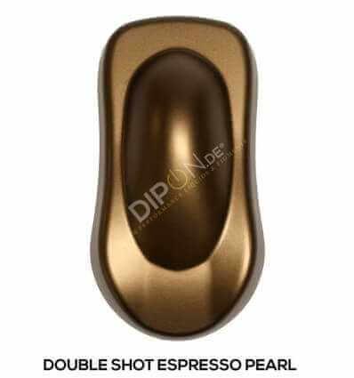 KandyDip® Double Shot Espresso Pearl Matt (Schwarze KandyDip® Basisbeschichtung / Black KandyDip® Basecoat)