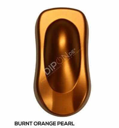 KandyDip® Burnt Orange Pearl Matt (Schwarze KandyDip® Basisfarbe / Black KandyDip® Basecoat)