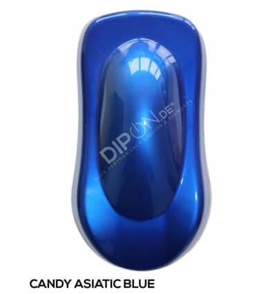 KandyDip® Candy Asiatic Blue 2K High Gloss (Schwarze Basis + True Aluminium Silver + Candy Asiatic Blue)