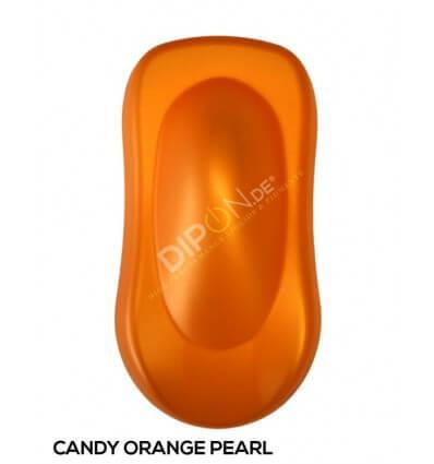 KandyDip® Candy Orange Pearl Matt (KandyDip® RAL 9003 Basisfarbe / KandyDip® RAL 9003 Basecoat)