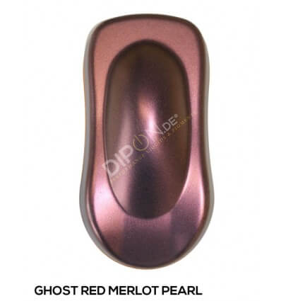 KandyDip® Ghost Red Merlot Pearl Matt (KandyDip® RAL 9005 Basisfarbe / KandyDip® RAL 9005 Basecoat)