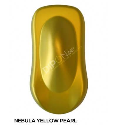 KandyDip® Nebula Yellow Pearl Matt (KandyDip® RAL 9005 Basisfarbe / KandyDip® RAL 9005 Basecoat)