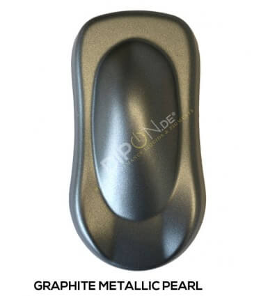 KandyDip® Graphite Metallic Pearl Matt (KandyDip® RAL 9005 Basisfarbe / KandyDip® RAL 9005 Basecoat)