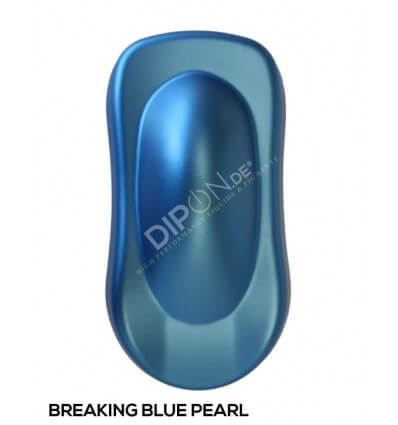 KandyDip® Breaking Blue Pearl Matt (KandyDip® RAL 9005 Basis/Base)