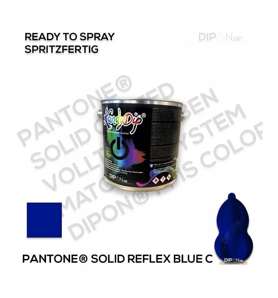 kandydip u00ae pantone u00ae reflex blue c