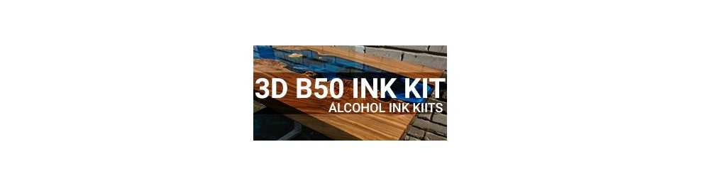 EpoxyPlast 3D B50 Deep Pour Alcohol Ink Kits