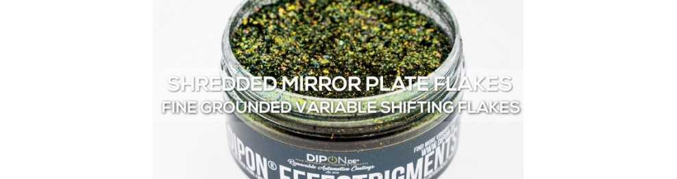 Shredded Mirror Flake Plates